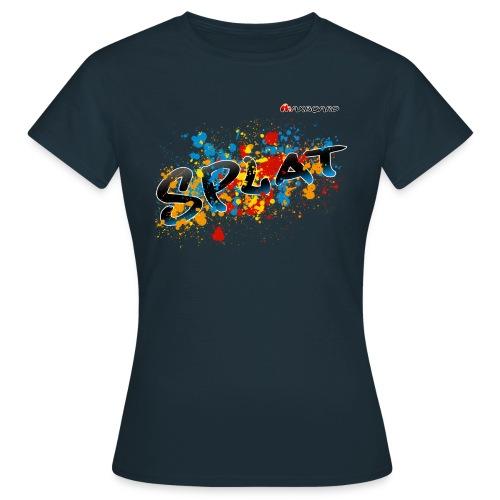 Splat - Frauen - T-Shirt - Frauen T-Shirt