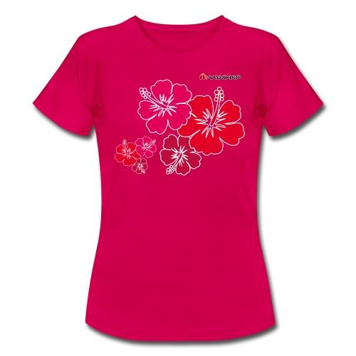 Hibiscus - Frauen - T-Shirt - Frauen T-Shirt