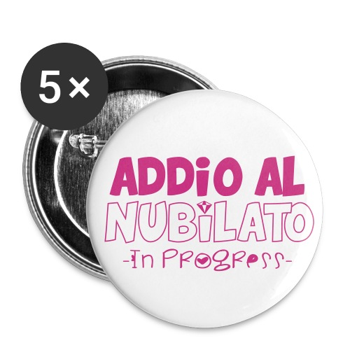 addio al nubilato - Spilla media 32 mm