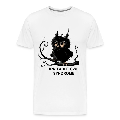 Irritable Owl Syndrome - Men's Premium T-Shirt