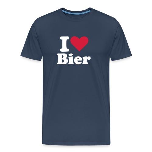 I Love Bier T-shirt - Mannen Premium T-shirt