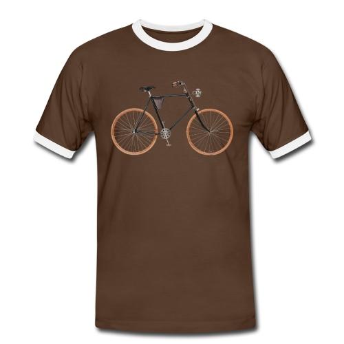Safety-Fahrrad - Männer Kontrast-T-Shirt