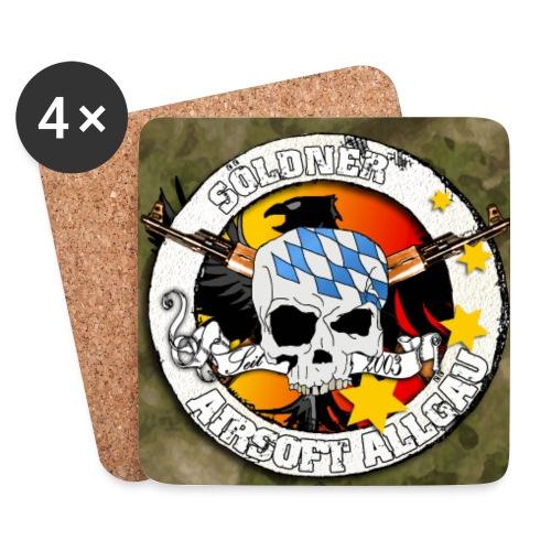 Untersetzer 4Pack , Logo bunt, Hintergrund Atacs FG - Untersetzer (4er-Set)