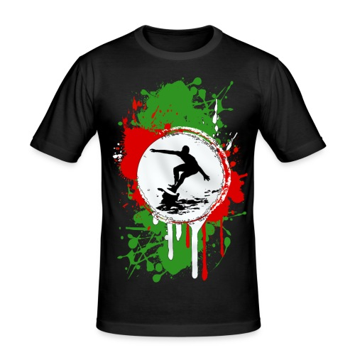 Basque surfing team - Men's Slim Fit T-Shirt