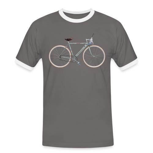 Rennrad 30er Jahre - Männer Kontrast-T-Shirt