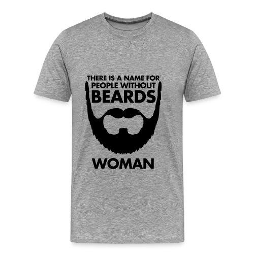 No Barba - Maglietta Premium da uomo