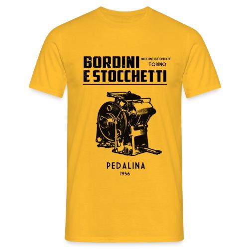 BORDINI E STOCCHETTI DI TORINO... 100 copie al minuto. - Maglietta da uomo