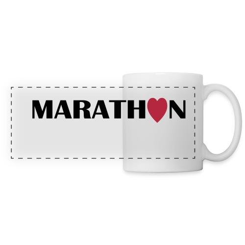 Coffee Mug: I love running Marathon - Panoramatasse