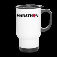 Tassen & Zubehör ~ Thermobecher ~ Thermobecher: I love Marathon