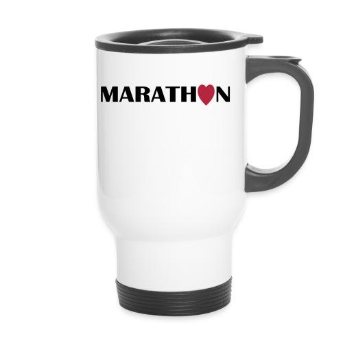 Thermobecher: I love Marathon - Thermobecher
