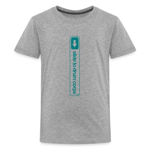 Slide to... - Teenager Premium T-shirt