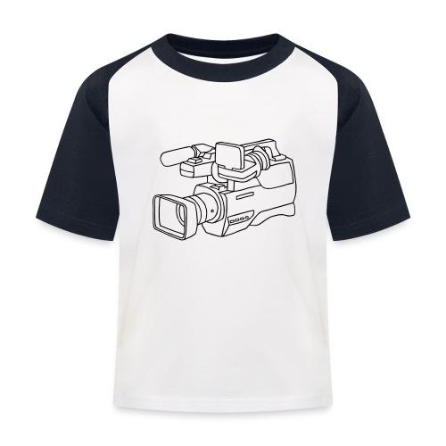 Videokamera - Kinder Baseball T-Shirt