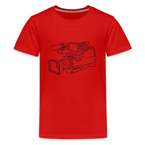 Videokamera - Teenager Premium T-Shirt