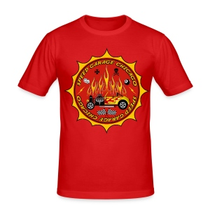 Racing parts - Hot Rods garage - Men's Slim Fit T-Shirt
