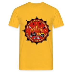 Racing parts - Hot Rods garage - Men's T-Shirt