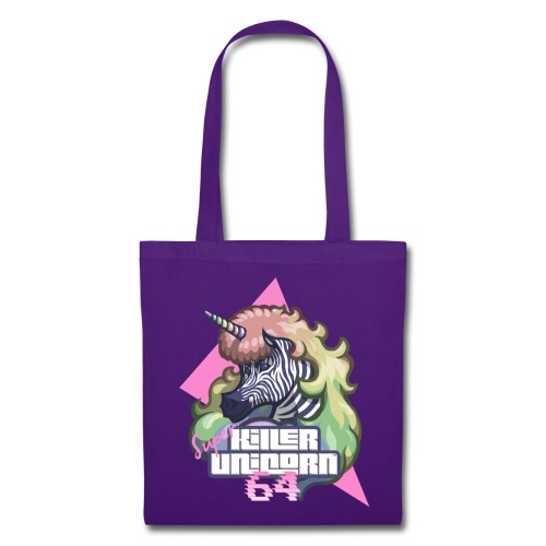 Super Killer Unicorn 64 - Tote Bag