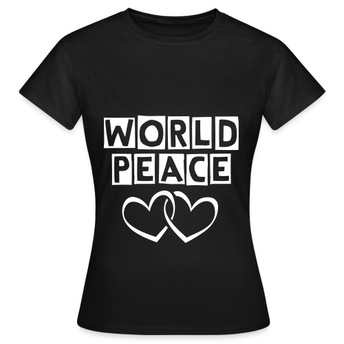 WORLD PEACE T-Shirt  - Women's T-Shirt