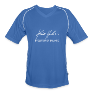T-Shirts ~ Men's Football Jersey ~ Signature Logo Riding Jersey (White Logo)