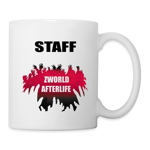 Zworld STAFF White - Mug blanc