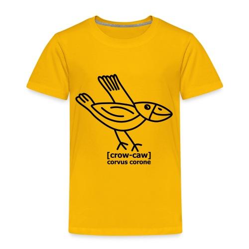Kråka is pronounced Crow-caw - Kids' Premium T-Shirt