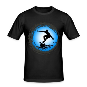 Surfing team - Men's Slim Fit T-Shirt