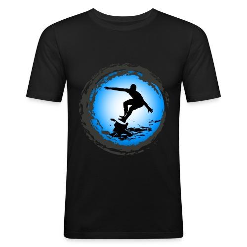 Surfing team - Men's Slim Fit T-Shirt