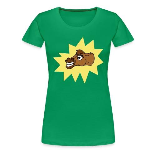 Female Richard The Horse Tee - Women's Premium T-Shirt