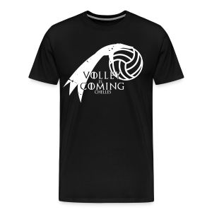 T-Shirt Homme Volley Is Coming Noir - T-shirt Premium Homme