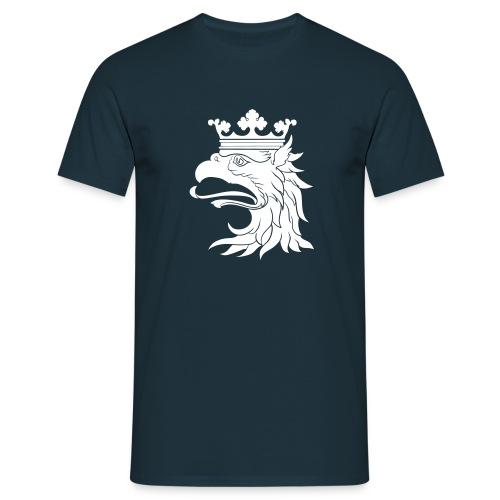 Heraldic Gryphon Head by H.A.D. - T-shirt herr