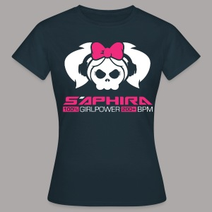 S'APHIRA 100% GIRLPOWER 200+ BPM / T-SHIRT LADY #4 - Vrouwen T-shirt