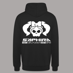 S'APHIRA 100% GIRLPOWER 200+ BPM / SWEATER MEN #1 - Hoodie unisex