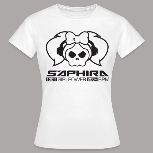 S'APHIRA 100% GIRLPOWER 200+ BPM / T-SHIRT LADY #3 - Vrouwen T-shirt