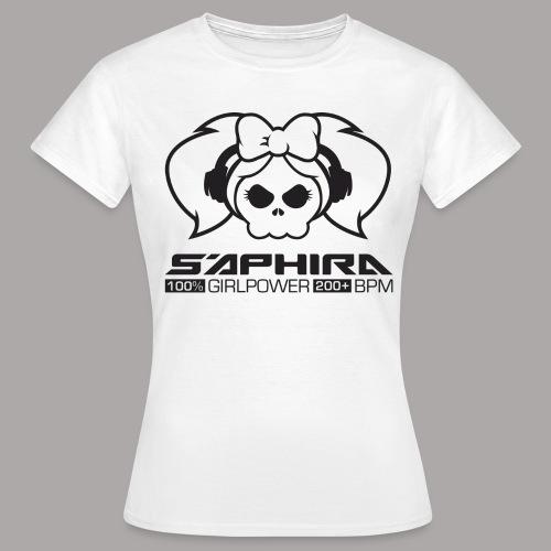 S'APHIRA 100% GIRLPOWER 200+ BPM / T-SHIRT LADY #3 - Vrouwen T-shirt
