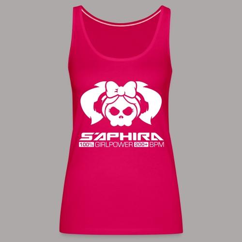 S'APHIRA 100% GIRLPOWER 200+ BPM / TANKTOP LADY #5 - Vrouwen Premium tank top