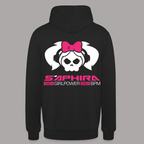 S'APHIRA 100% GIRLPOWER 200+ BPM / SWEATER LADY #2 - Hoodie unisex