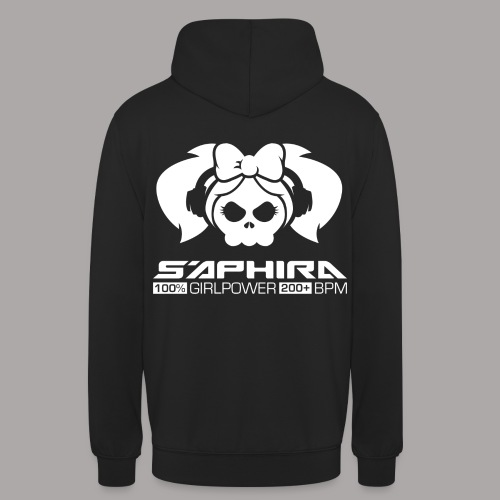S'APHIRA 100% GIRLPOWER 200+ BPM / SWEATER LADY #1 - Hoodie unisex