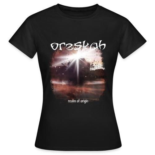 Girly Realm Of Origin - T-shirt Femme