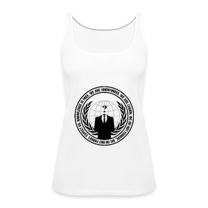 Anonymous Tank Top WOMEN - Women's Premium Tank Top