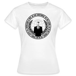 Anonymous T-Shirt WOMEN - Koszulka damska