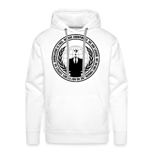 Anonymous Premium Hoodie Men - Bluza męska Premium z kapturem