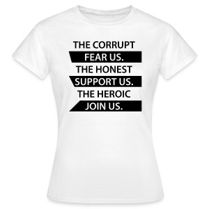 The Corrupt Fear Us T-Shirt WOMEN - Women's T-Shirt