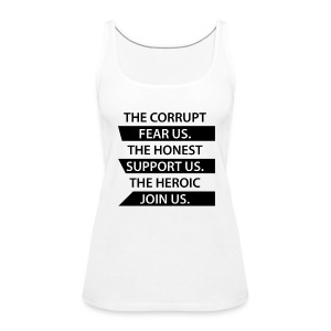 The Corrupt Fear Us Tank Top WOMEN - Women's Premium Tank Top