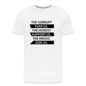 The Corrupt Fear Us Premium T-Shirt MEN - Men's Premium T-Shirt
