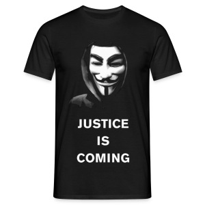Justice Is Coming T-Shirt MEN - Camiseta hombre
