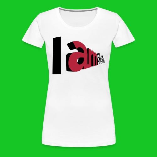 I Am sterdam, dames t-shirt - Vrouwen Premium T-shirt