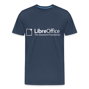 LibreOffice T-Shirt for men, black - Men's Premium T-Shirt
