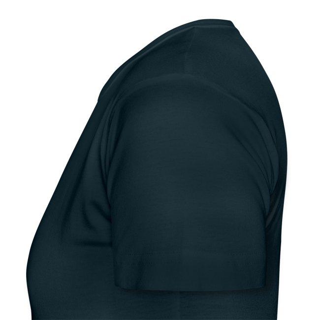 CSD Frankfurt Frauen-T-Shirt schwarz, einseitig