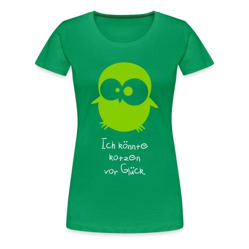 Damen T-Shirt 'Ich könnte' - Frauen Premium T-Shirt