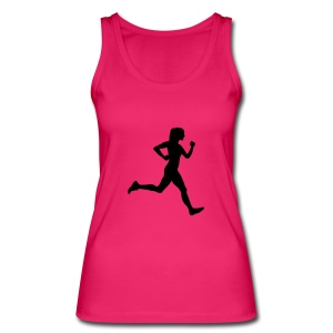 woman running Tops - Women's Organic Tank Top