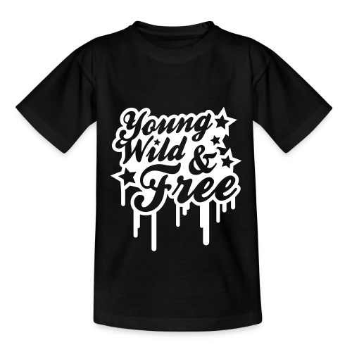 Young Wild & Free - Kinderen T-shirt
